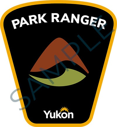Sample badge for Government of Yukon park rangers